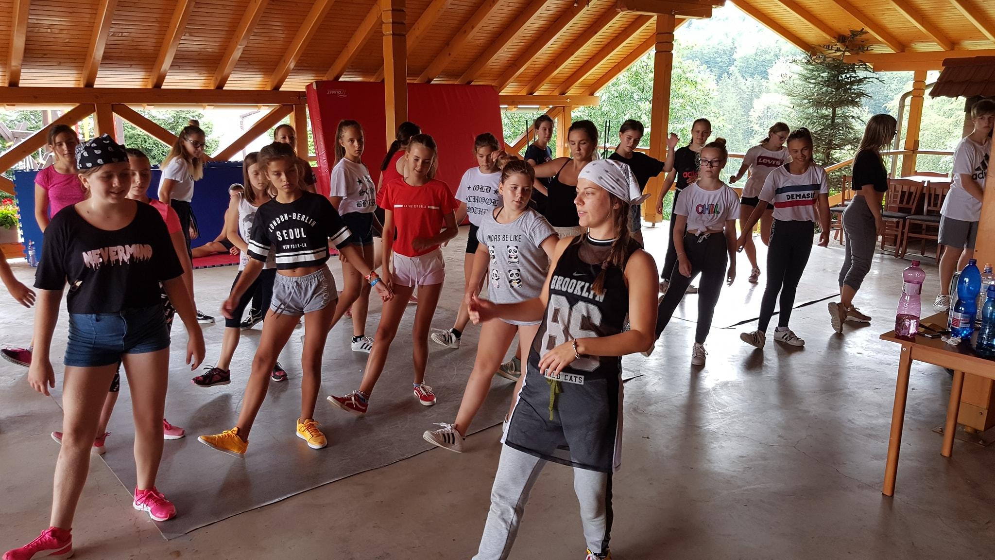 Letné tanečné sústredenie